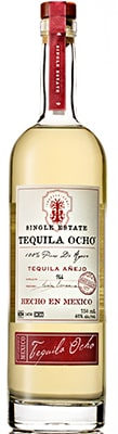 Tequila Ocho Anejo Spirits