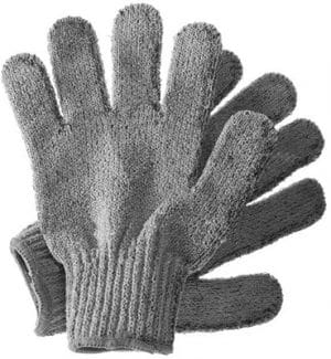 Hydrea London Carbonised Bamboo Shower Glove/Pair Bath & Body