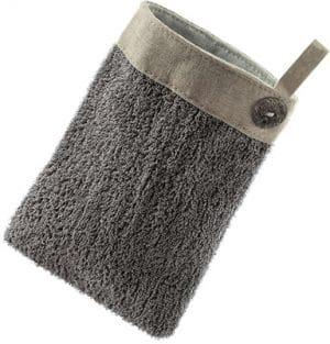 Hydrea London Black Elegance Exfoliating Button Mitt Bath & Body