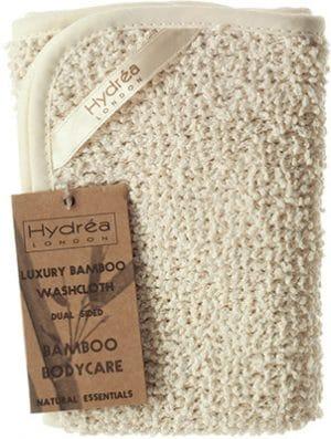 Hydrea London Bamboo Duo- Sided Washcloth Bath & Body