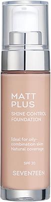 Seven7een Matt Plus Shine Control Foundation Complexion