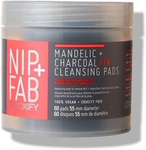NIP+FAB Mandelic + Charcoal Fix* Pads Daily Face Treatment