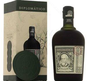 Diplomatico Reserva with coasters Rum