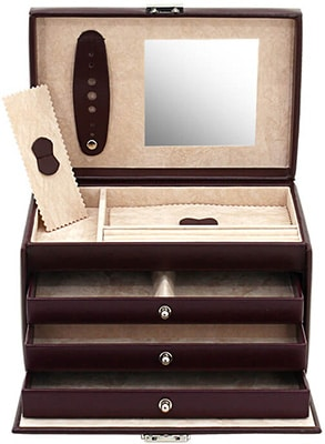 Friedrich Jewellery Case Leather Synthetic – Wine Accessories