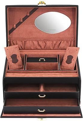 Friedrich Jewellery Case Copenhagen Black – Medium Accessories