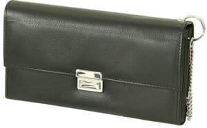 Friedrich Waiter Wallet Goat Leather – Black Accessories