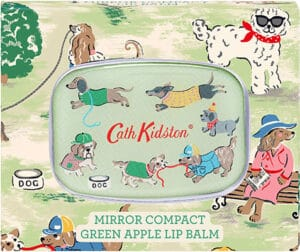 Cath Kidston  Park Dogs – Compact Mirror Lip Balm Bath & Body