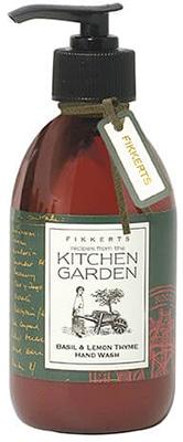 Fikkerts  Kitchen Garden Basil & Lemon Thyme Hand Wash Bath & Body