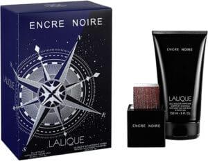 Lalique Encre Noir* Gift Pack Eau De Toilette 50ml For Men