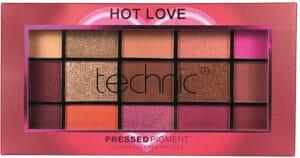 Technic  Hot Love Pressed Pigment Palette Eye Shadow