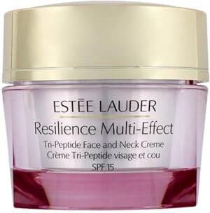Estee Lauder Resilience Multi-Effect *  Tri-Peptide Face and Neck Creme Spf 15 (Normal/ Combination) Estee Lauder
