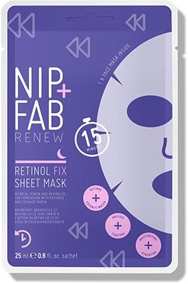 NIP+FAB  Retinol Fix* Sheet Mask Cleansing & Masks