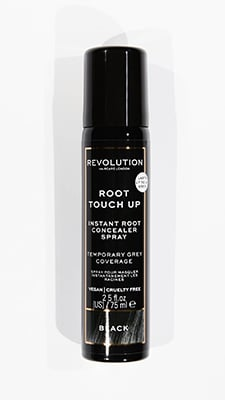 Revolution Haircare Root Touch Up Spray Black Bath & Body