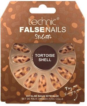 Technic False Nails Tortoiseshell Print False Nails